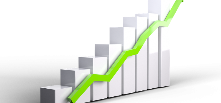 a graph showing growth