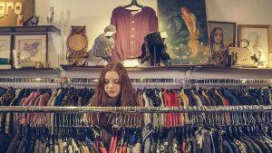 Girl shop in Miami.