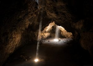 Florida is full of caves to explore, such as this one.