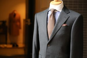 Suit on a mankquin