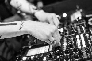 Image of a DJ