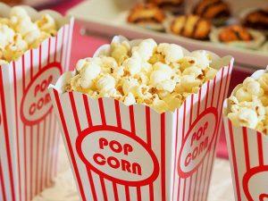 Bags of popcorn