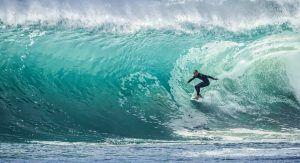 an image of a surfer surfing