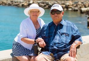 People who enjoy Pompano Beach as a senior