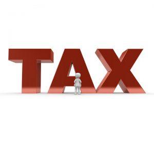 A word saying tax