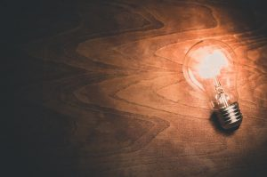 A lightbulb, get eco friendly apliances to get back some money you spent on relocation
