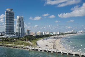 Miami in daylight.