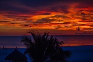 Sunset at Marco Island.