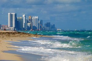 Best schools in FL - Sunny Isles Beach skyline from the south