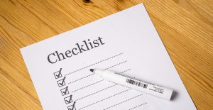 Successful moving day- make sure you have the checklist so nothing gets left behind