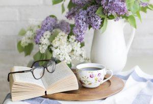 A reading corner