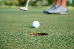 Things to do in Palm Bay FL- a golf court and a golf ball