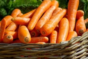 basket of carrots