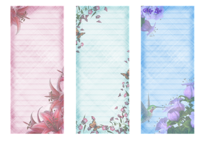 Notes in different colors that you can use to make a moving day preparations timeline