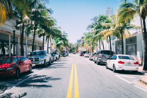 Unpacking after your Lake Worth FL move- a street