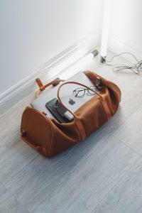 an essentials bag
