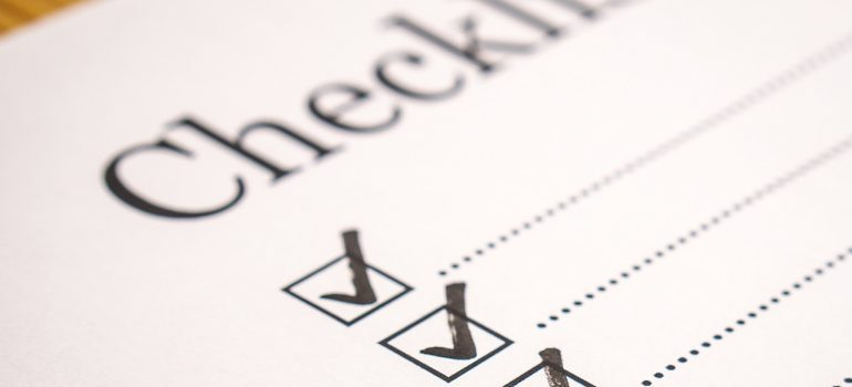 checklist to ensure smooth Miami relocation