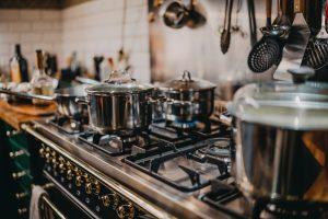 prepare appliances for the move- a stove