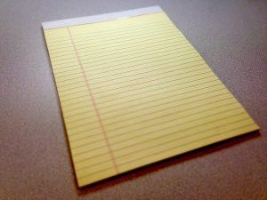An empty paper