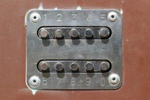 Set of doorbells