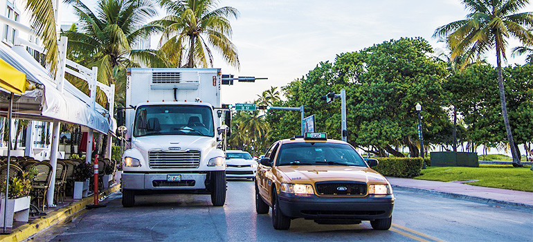 best local movers in Palm Bay and their moving truck