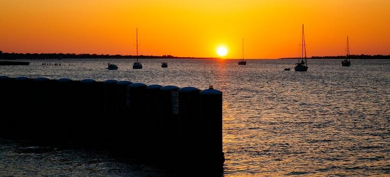 sunset in Bradenton