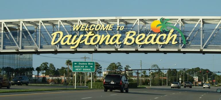 Daytona beach street sign