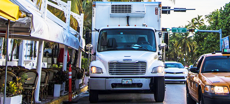 residential movers tampa and their truck