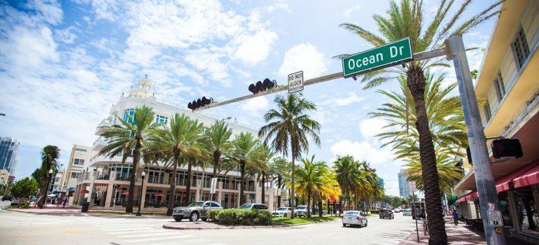 Ocean drive street