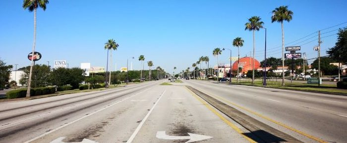 Road in Florida.