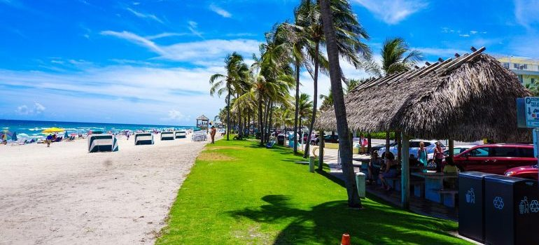 view of Deerfield beach as one of the cheapest places in Florida to buy a home