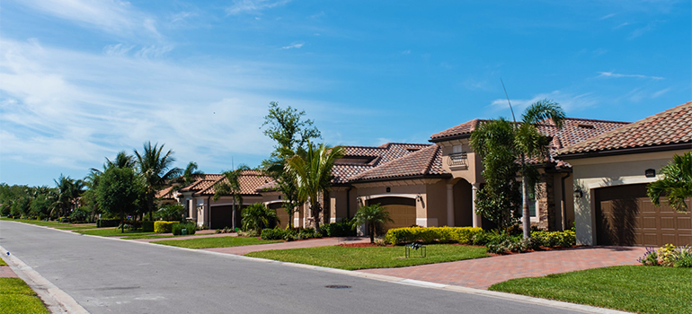 residential area in Palm Beach