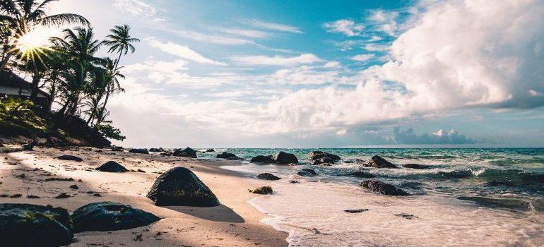 A beach in Florida