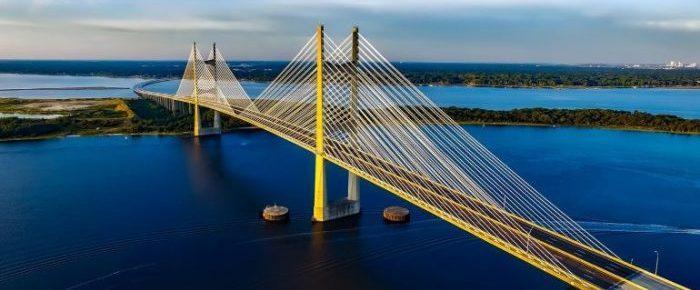 Highway bridge in Florida