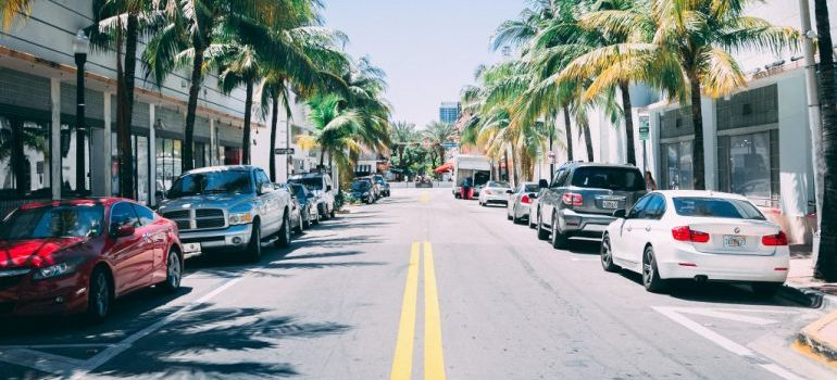 Coral Springs downtown street