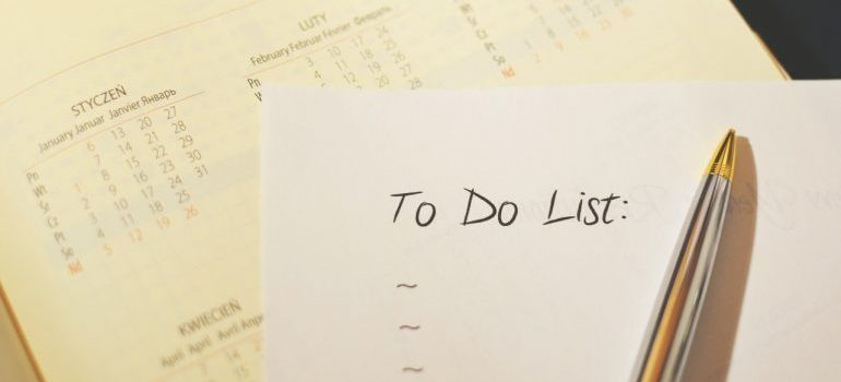 to-do list is something to come up with before moving from Lake Worth to Fort Lauderdale
