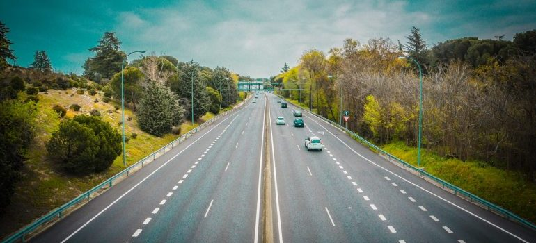 image of a highway