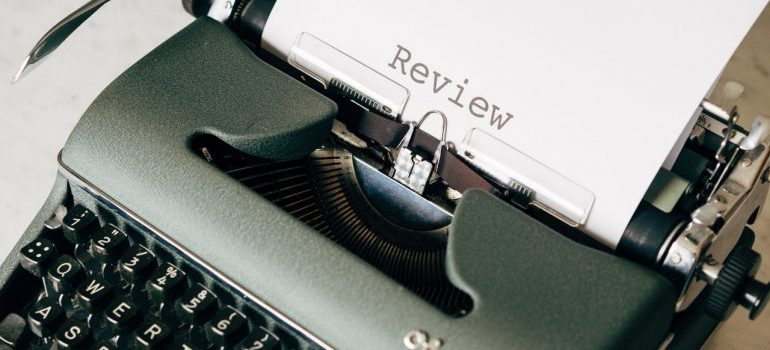 write a helpful moving review by including details of your move in it