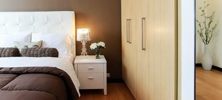 Bedroom furniture that local movers Davie FL can relocate.