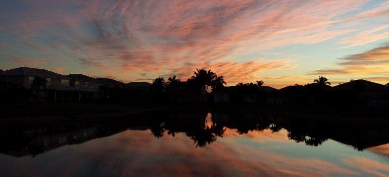 Sunrise in Boca Raton