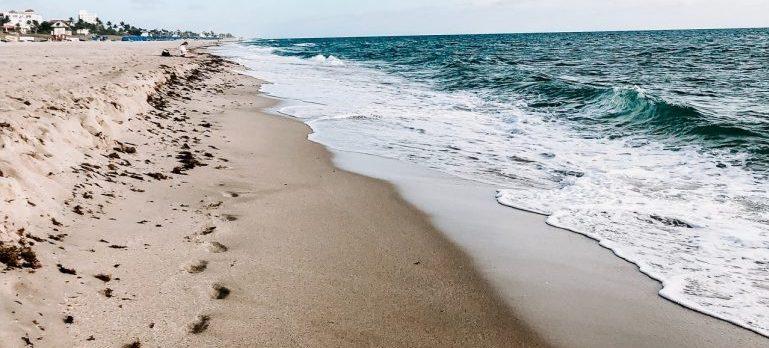 Beautiful beach of Florida
